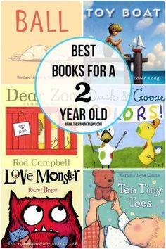 Looking for a gift? Here's a collection of the best books for 2 year old boys.