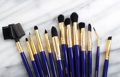 The beautiful Jen from @mybeautybunny shot this pic of our Must have Professional Makeup Brushes. Shop: http://furlesscosmetics.com/must-have-makeup-brushes-1/
