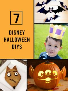 DIY your way to a Disney Halloween to die for with the help of these craft, recipe, printable, game, and costume tutorials.