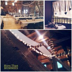 Beautiful Barn Wedding. DIY wedding decorations and inspiration. For the bride on a budget.