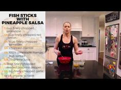 Fishsticks with Pineapple Salsa- RP Kitchen with Lori Shaw - YouTube