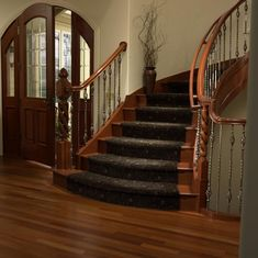 1000 Images About Stair Runners On Pinterest Carpet