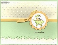 Cute as a Bug by Michelerey - Cards and Paper Crafts at Splitcoaststampers