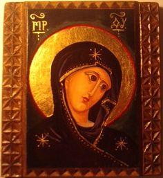 Ortodox icon, tempera on wood Adriana Mihoc Dragus