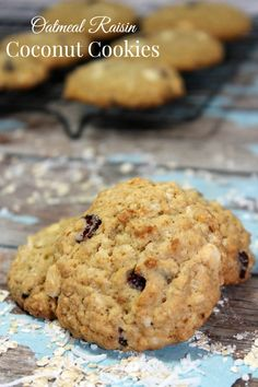 Looking for a healthy raisin recipe that steps outside the usual oatmeal raisin fare? Try these yummy oatmeal raisin coconut cookies with healthier swaps!