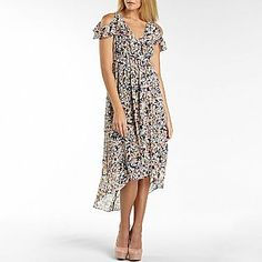 I 'Heart' Ronson Cold Shoulder Maxi Dress - jcpenney