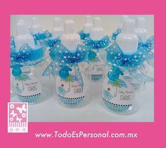 mamilas dulceros baby shower niño embarazo ideas sorpresa regalos embarazada futura mama premios invitadas ideas recuerdos detalles bolos azul elefante paraguas sombrilla mentas lunetas bombones