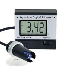 Digital Ph Monitor Meter Tester 0.0014.00Ph + 2 Buffer Solutions Accuracy ±0.1