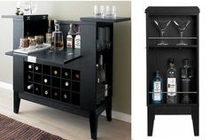 Crate&Barrel Parker Spirit Cabinet