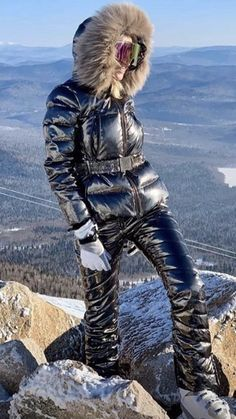 Winter Suit, Snow Suit, Skiing, Winter Outfits, Overalls, Winter Jackets, Fur, Suits, Clothing