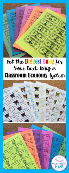 A classroom economy system will help students take ownership in the classroom. It can also help with learning real-world financial literacy in a fun way. Setting up your classroom economy strategically will pay you dividends down the road. Classroom Economy System, Classroom Management, Classroom Organization, Classroom Discipline, Classroom Behavior, Teaching Kindergarten, Teaching Resources, Classroom Resources, Classroom Projects