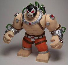 EPICFIG-BIG Hulk Size-BANE-BatmanArkham-Custom 3D Product Lego Dc, Marvel Vs, Bane, Christmas Presents, Hulk, Bowser, Action Figures, Mario, Character Design