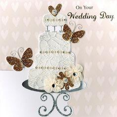 Second Nature Wedding Day Keepsake Card