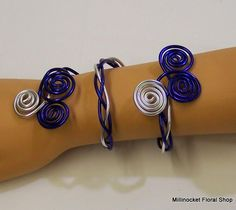 Prom flowers: Wire Ideas for Prom 2014 Corsage And Boutonniere, Boutonnieres, Prom Flowers, Prom 2014, Wrist Corsage, Wire Crafts, Floral, Corsages, Jewelry