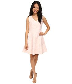 Yumi S V-Neck Daisy Jacquard Dress | $42.99 | 6pm.com