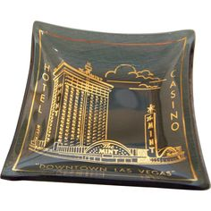 Mint Casino Hotel Ashtray Las Vegas Souvenir - A great Father's Day Gift for the casino loving Dad!