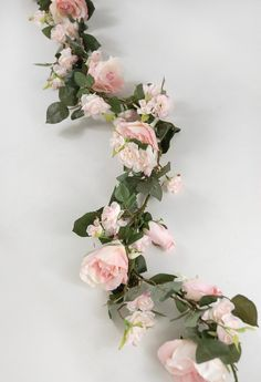 "Rose Garlands Pink 6 foot, to make hanging ""love."" Can't figure out how to add to Amazon wish list--need 4 6' garlands :)"