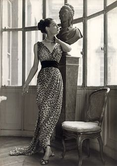 I have leopard printed jumpsuit and would be great to have leopard printed dress! This is from Dior