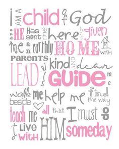 Child of God girl