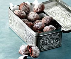 Chocolate and raspberry biscuits Chocolate Lovers, Chocolate Recipes, Cake & Co, Xmas Food, No Bake Cookies, International Recipes, Christmas Cookies, Cookie Recipes, Raspberry