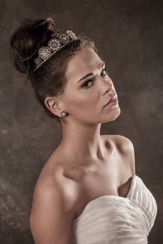 Gill Clements Crown. #hair #beauty #bridal #bride