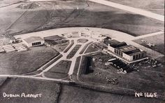 Collinstown Airport, 1940s Dublin Airport, Images Of Ireland, Ireland Homes, Irish Roots, Historical Images, Air Travel, Airports, Compass, West Coast