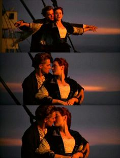 "Titanic. Movie. Jack & Rose. ""My favorite part in movie"" Leonardo Dicaprio Kate Winslet, Titanic Ship, Rms Titanic, Jack Dawson, Romantic Movies, Love Movie, Movie Tv, Titanic Movie Scenes, Titanic Drawing"