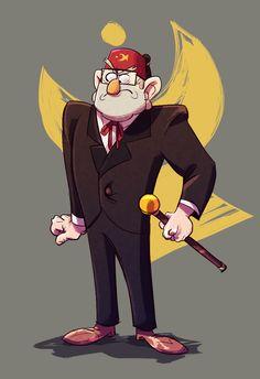 gorillaprutt:  Grunkle Stan !