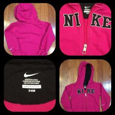 Cute Girls Nike Sweatshirt  Size 24 months Super cute Nike sweatshirt, in pink . Nike Other