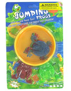 144 Jumping Frogs Favor Party Gift Bag Fillers Prize Prizes Assortment Froggy