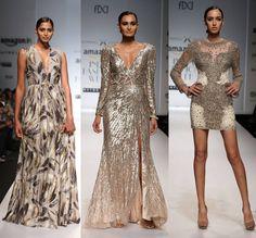 Haute metallics at Kommal Sood  #SS16 #fashion #trends #aifw