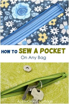 Free sewing template – See how to sew a pocket on any bag – it is so practical! … Sponsored Sponsored Free sewing template – See how to sew a pocket on any bag – it is so practical! Sewing Projects For Beginners, Sewing Tutorials, Sewing Hacks, Sewing Tips, Bags Sewing, Bag Tutorials, Sewing Ideas, Techniques Couture, Leftover Fabric