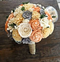 Handmade Natural Alternative Wedding Bouquets - Mention Dream with Me Event Planning and get 10% off your order!