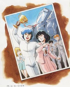 Old anime, mostly from the See also: Features: Anime Primer Gundam Wing, Gundam Art, Zeta Gundam, Galactic Heroes, Cool Robots, Mecha Anime, Old Anime, Old Cartoons, Mobile Suit