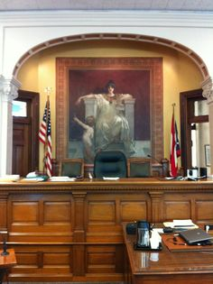 Inside the Hancock County Courthouse in Findlay, Ohio.