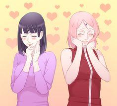 Tags: Fanart, NARUTO, Haruno Sakura, Hyuuga Hinata, Pixiv, Fanart From Pixiv, Sakura Jam