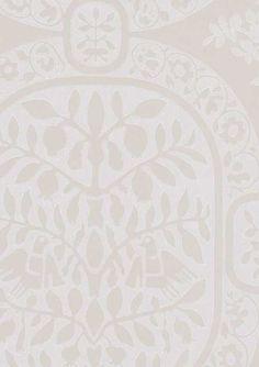 ~ Ritva Kronlund: Paratiisi, Harmaa-valkoinen Queen Anne, Modern Farmhouse, Rugs, Retro, Antiques, Interior, Pattern, Walls, Wallpapers