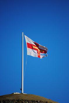 Guernsey Flag by Samie128, via Flickr