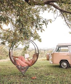Van Life is more of a movement than a trending hashtag. Here's what happened when this solo traveler ditched the city and lived out of a van for a week. Outdoor Spaces, Outdoor Living, Outdoor Decor, Boho Stil, Van Life, Future House, Interior And Exterior, Photos, Pictures