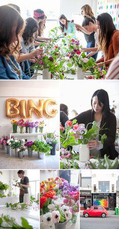 Craft Night: Floral Design Class