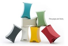 The Pop stool. Available on FormAdore.com