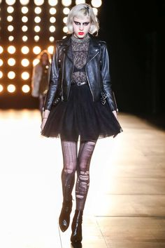 Julia Cumming, Saint Laurent, Fall 2015 Ready-to-Wear