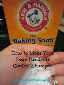 How To Make Dandruff Control Shampoo at Home - Saving Said Simply