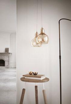 SR2 Mega Bulb Pendant Light Gold by &Tradition - Modern - Pendant Lighting - Los Angeles - LoftModern.com