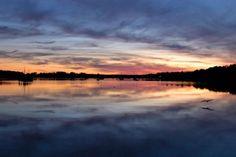Sunset Over Pemaquid River, New Harbor, Maine