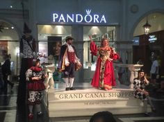 Watching the show at the Grande canal shoppes #travel #vegas #geekout