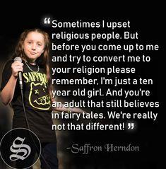 #atheistarmy #atheist #thingsatheist #atheisthumor #funnyatheist #agnostic #agnosticism #atheists #atheistmemes #atheistcommunity #secular #atheistposts #proudatheist #atheism #atheismftw Losing My Religion, Anti Religion, Religion And Politics, Agnostic Quotes, Atheist Jokes, Athiest, Religious People, Being Good, True Quotes