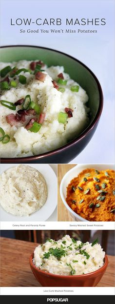 Creamy, Comforting, and Low-Carb Mashed Potato Substitutes
