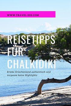 Die besten Reisetipps für die Halbinsel Chalkidiki in Griechenland.  Mit diesen Reisetipps entdeckst Du die Highlights der griechischen Halbinsel Chalkidiki und kannst einen tollen Urlaub geniessen! Ich verrate dir authentische Restaurants, tolle Badebuchten mit kristallklarem Wasser und wunderbare Aussichtspunkte.