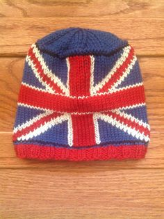 Hat knit for Prince George. My pattern. Received thank you letter.